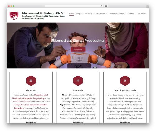 Harest WordPress theme free download - mohammadmahoor.com