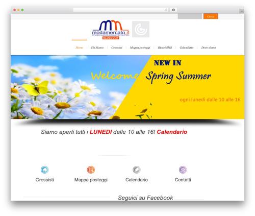 Lounge WordPress theme - modamercato.it