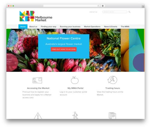 Free WordPress Favicon Generator plugin - melbournemarkets.com.au