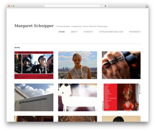 Qua template WordPress - margaretschnipper.com
