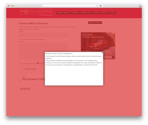 ShapeShifter free WordPress theme - mesajgratuit.ro