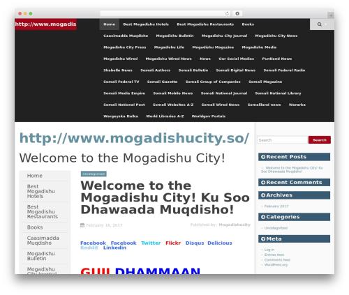SmartAdapt free WordPress theme - mogadishucity.so