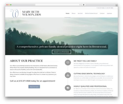 Theme WordPress Enfold - marybethwilsondds.com