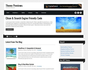 Theme WordPress Ribbons WordPress Theme