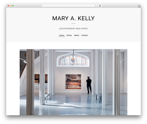 Themify Elegant template WordPress - marykelly.website