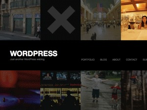 WordPress theme Fullscreen