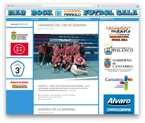 WP theme Forefront - marfutbolsala.es