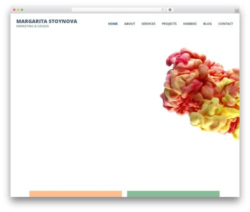 Avoir WordPress template - margaritastoynova.com