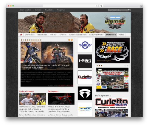 Blognews WordPress news template - mototime.com.ar