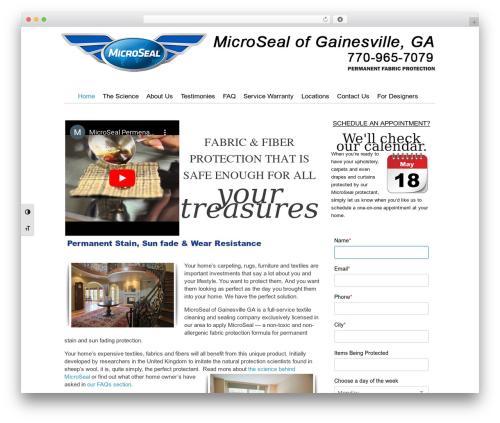 Catalyst company WordPress theme - microsealofgainesvillega.com