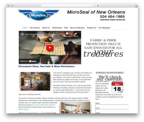 Catalyst WordPress template for business - microsealofneworleans.com