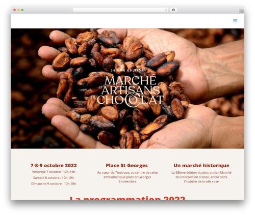Divi WP theme - marchechocolat-toulouse.fr
