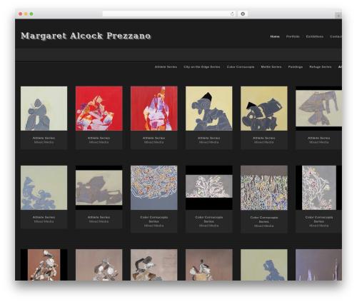 Egofolio WP template - margaretalcockprezzano.com