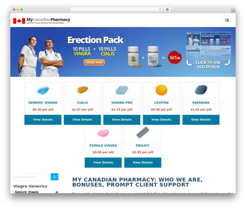 Enfold (share on themelot.net) WP template - mycanadianpharmacyrx.com