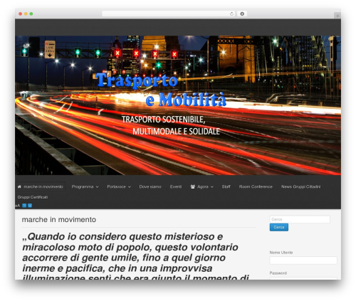 Gantry Theme for WordPress WordPress theme - marcheinmovimento.it