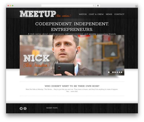 Goodways company WordPress theme - meetuptheseries.com