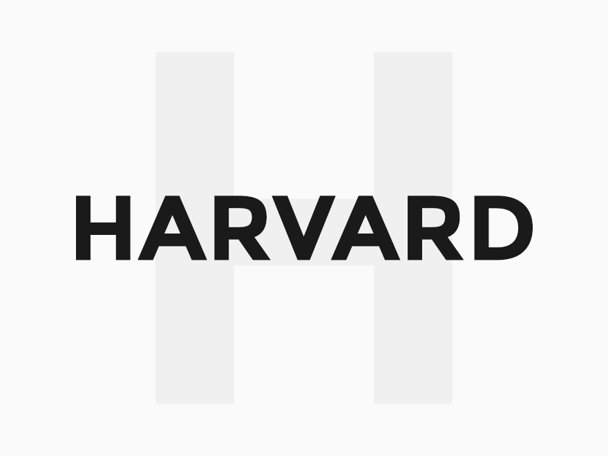 Harvard template WordPress