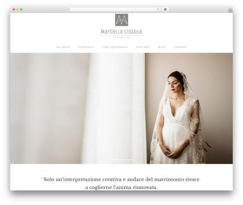 Napoli top WordPress theme - marcellacistola.com