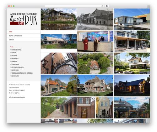 Other WordPress template - marcelvandijk.com