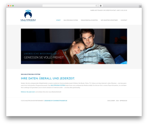 Sevenwonders WordPress movie theme - multiroom-entertainment.de