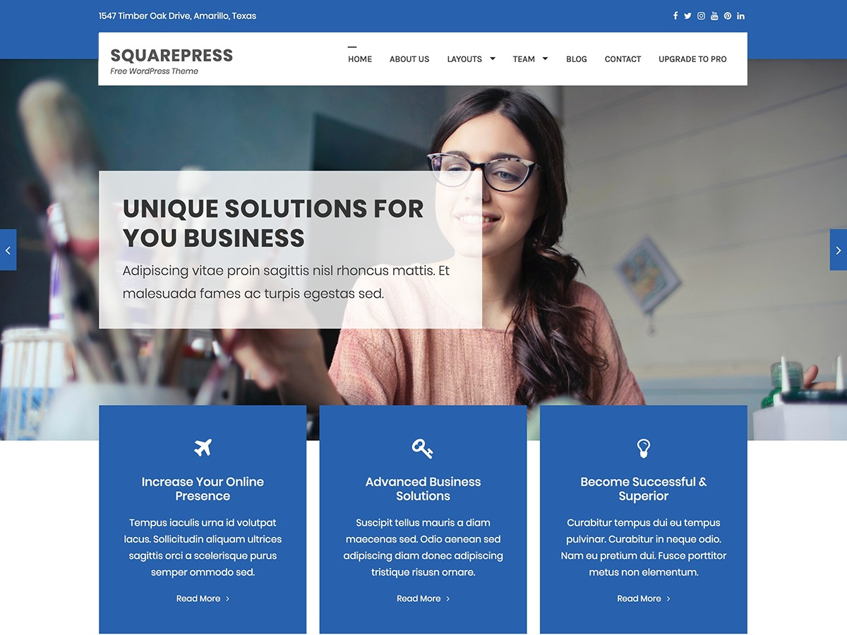 Best WordPress theme Bow by Themes Awesome - freshmurals.com