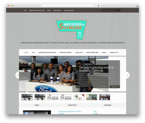 Aggregate WordPress template - webdesignsilverlake.com