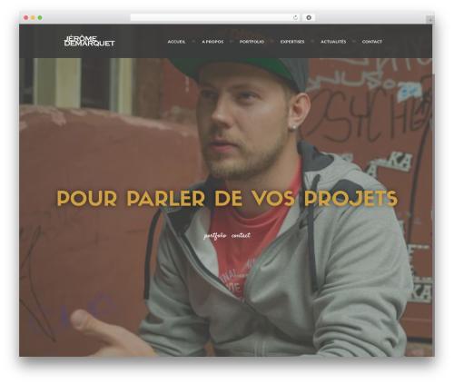 Ananke Theme WordPress template - webdesignparis.fr