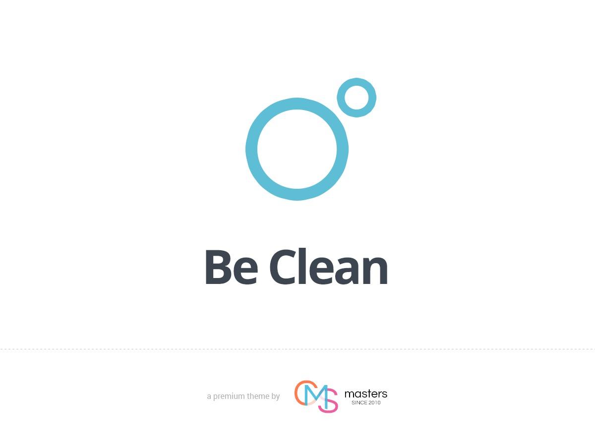 Be Clean theme WordPress portfolio