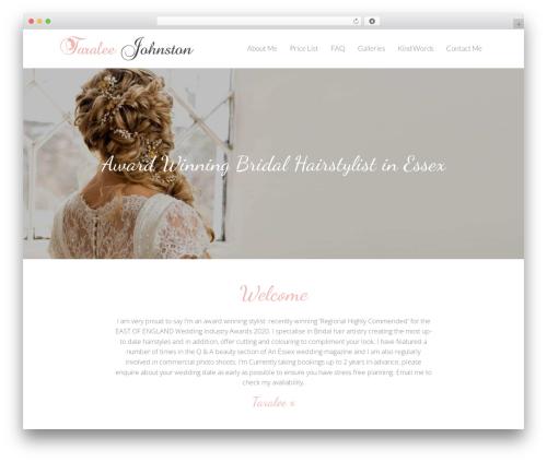 Free WordPress TablePress plugin - weddinghairbytara.co.uk