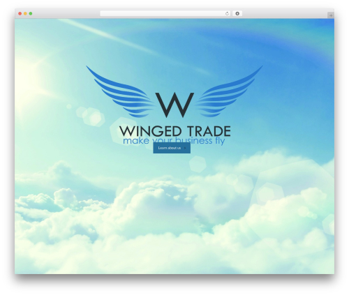Best WordPress template Reversal - wingedtrade.com
