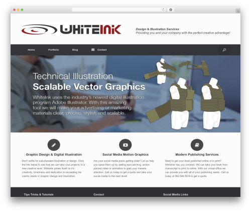 Best WordPress theme Child of Vantage - whiteinkdesign.com