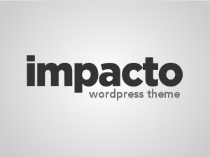 Best WordPress theme Impacto