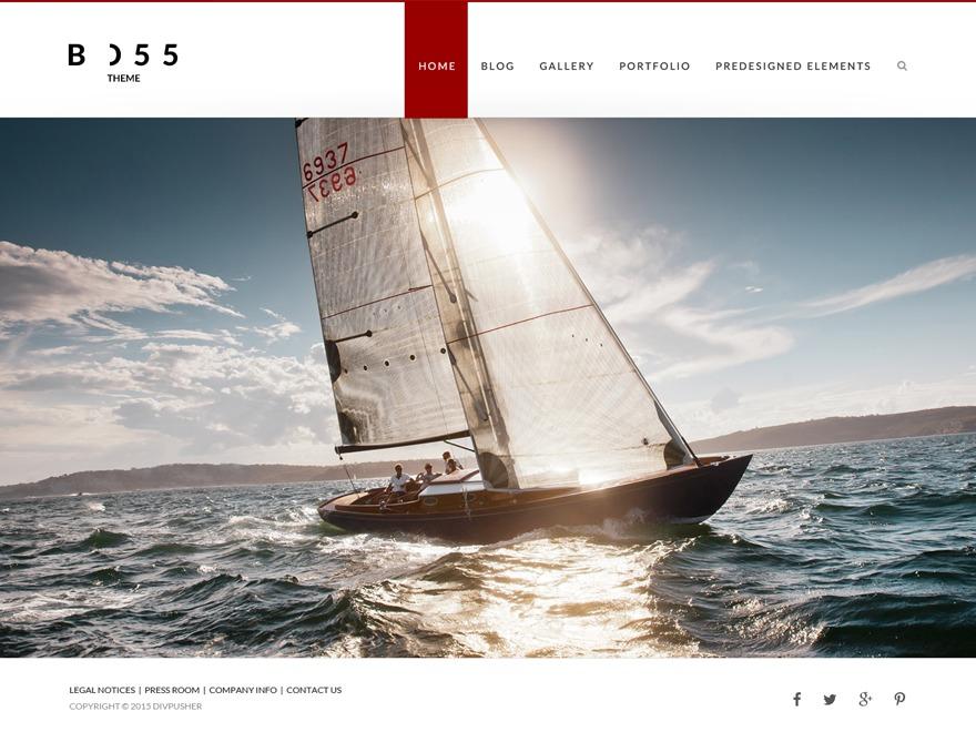 BOSS free website theme