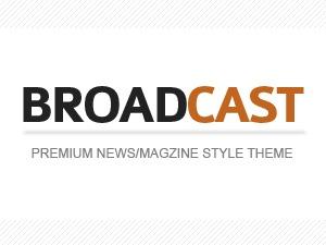 Broadcast best WordPress magazine theme