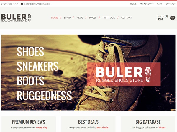 Buler theme WordPress