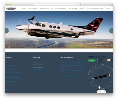 BusiProf Pro best WordPress theme - winged-dutchman.com