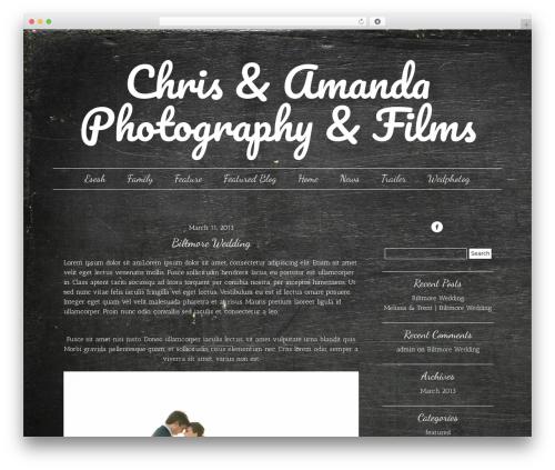 Free WordPress Easy Social Icons plugin - weddingphotographyri.com