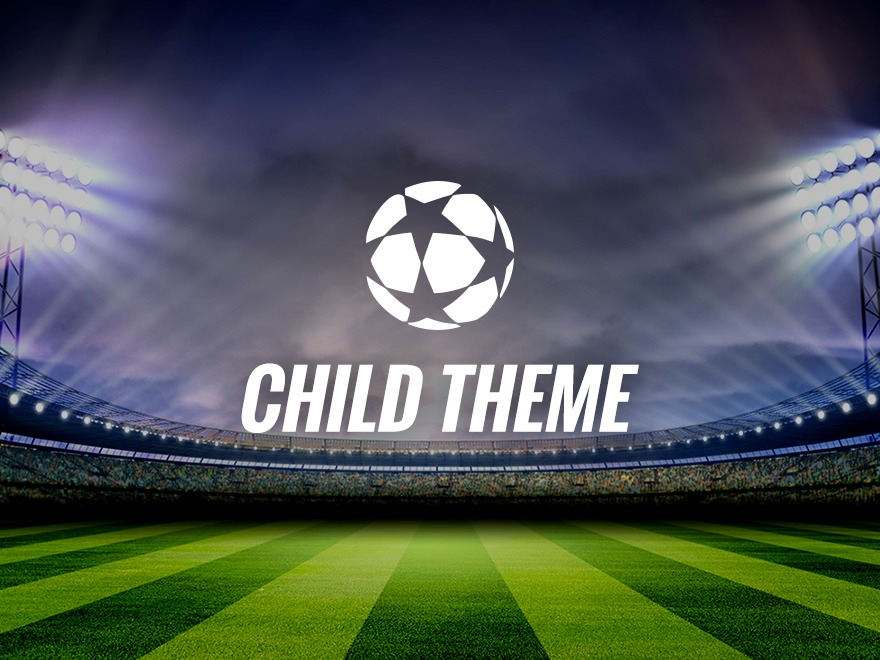 Champion - Child Theme WordPress news theme