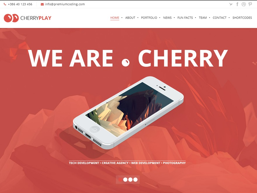 Cherry - Multipurpose Wordpress Theme best WordPress theme