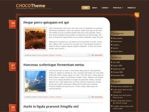 choco top WordPress theme