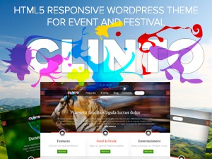 Clinto WordPress page template