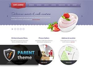 Coffee Lounge Parent template WordPress