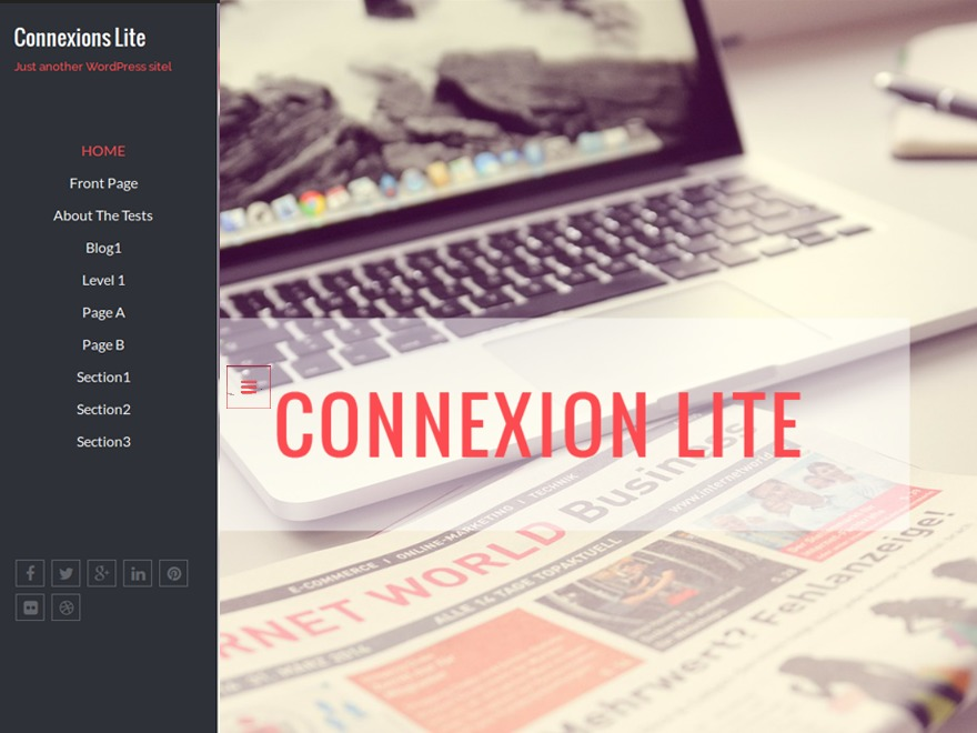 Connexions Lite free WP theme