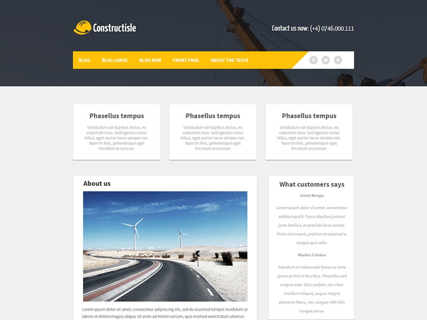constructisle WordPress free download