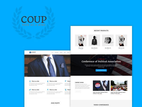 Coup theme WordPress