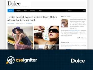 Dolce newspaper WordPress theme