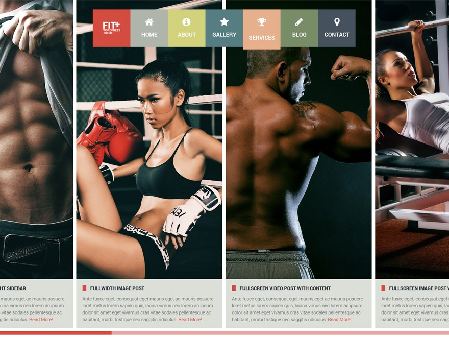 Fit+ best WordPress magazine theme