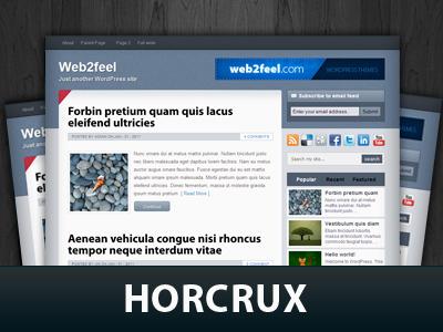 Horcrux WordPress template