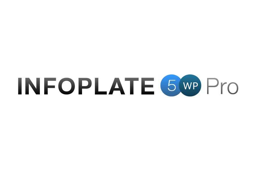INFOPLATE 5 WP Pro WordPress theme design