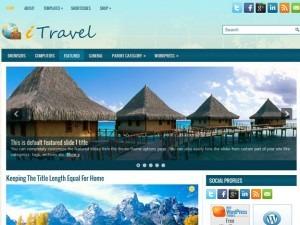 iTravel WordPress travel theme